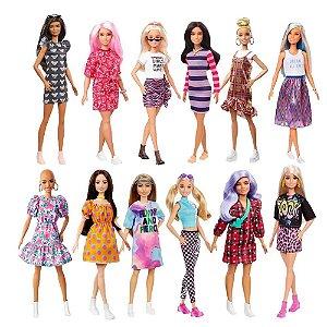 Boneca Barbie Fashionistas 77 To Tie Dye For Curvy (Sortidas) - Mattel FBR37