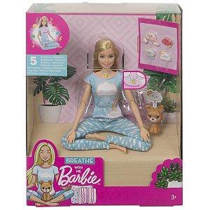 Boneca Barbie Medita Comigo - Mattel GNK01