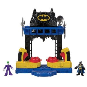 Playset Imaginext - Dc Comics - Batalha na Batcaverna