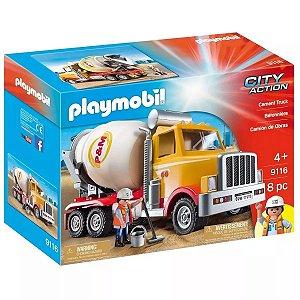 Playmobil City Caminhão Betoneira - Sunny 1707