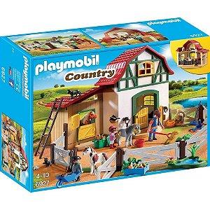 Playmobil Country Fazendinha com Pôneis - Sunny 1769