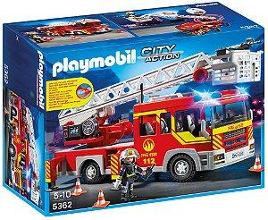 Playmobil City Action Caminhão de Bombeiro com Escada - Sunny 1056