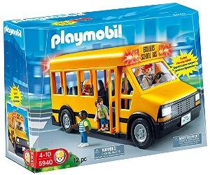Playmobil City Life Ônibus Escolar - Sunny 269