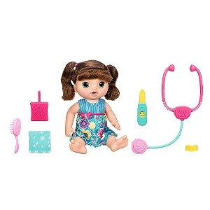 Boneca Baby Alive Doces Lágrimas Hasbro - Morena