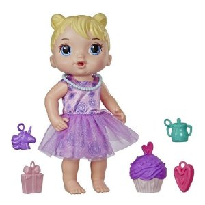 Boneca Baby Alive Festa de Presentes Hasbro - Loira