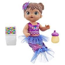 Boneca Baby Alive Sereia Morena - Hasbro