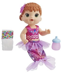 Boneca Baby Alive Sereia Ruiva - Hasbro