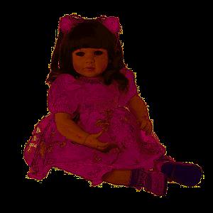 Boneca Bebê Laura Dolls Spring - Shiny Toys