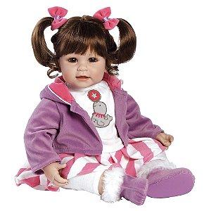 Boneca Bebê Reborn Adora Doll Balancing Act - Menina