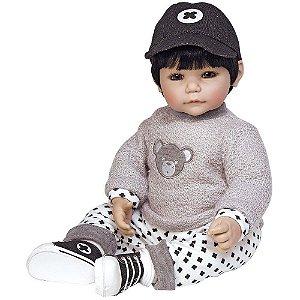 Boneca Bebê Reborn Adora Doll Bubba Bear - Menino