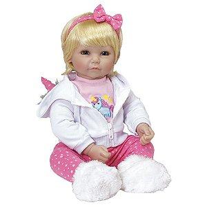 Boneca Bebê Reborn Adora Doll Rainbow Unicorn - Menina