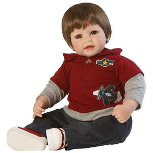 Boneca Bebê Reborn Adora Doll Up Up and Away Boy - Menino