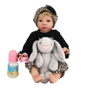 Boneca Bebê Reborn Laura Doll Baby Anita - Menina