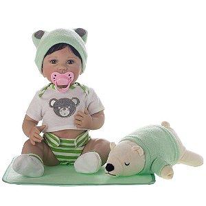 Boneca Bebê Reborn Laura Newborn - Artur