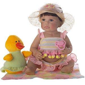Boneca Bebê Reborn Laura Newborn - Heloisa
