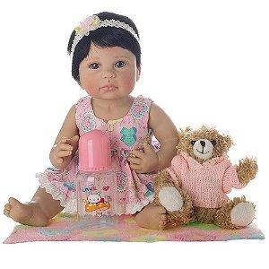 Boneca Bebe Reborn Laura Newborn - Liz