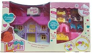 Casa de Bonecas Doce Lar Polibrinq - 6019