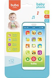 BABY PHONE AZUL 6842 - BUBA