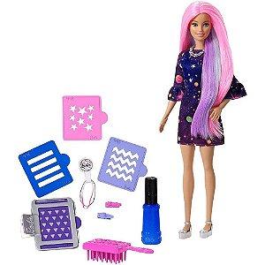 Barbie Cabelos Coloridos - Mattel