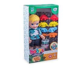 Boneco Baby Dino - Super Toys