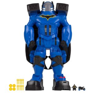 Boneco Batman Dc Comics - Imaginext - Mega Battlebot