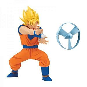 Boneco Dragon Ball Super com Mecanismo e Lançador Goku Super Sayajin - Brinquedos Chocolate