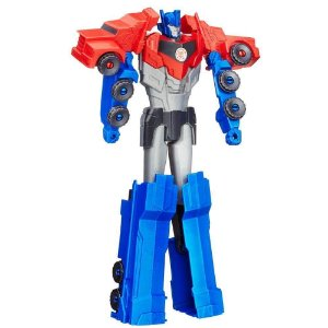 Boneco Transformers - Optimus Prime - Titan Changers - Robots In Disguise - Hasbro