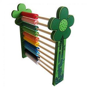 Brinquedo Educativo Super Ábaco - Carimbras