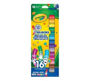 Canetinha Lavável 16 Cores - Crayola