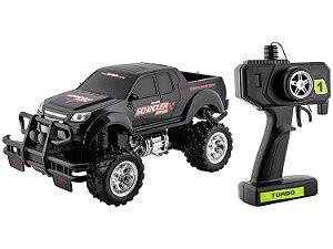 Carrinho de Controle Remoto Pick Up Monster Truck Polibrinq - 2271