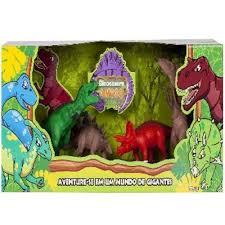 Dinossauro Amigo com 4 Peças Super Toys