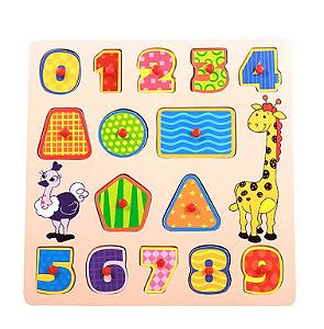 Encaixe e Brinque - Números - Dican