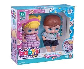 Gêmeos Babys Collection Mini - Super Toys