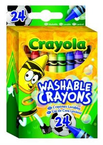 Giz de Cera Lavável - Crayola 24 Cores