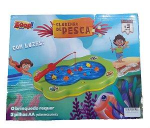Jogo Clubinho da Pesca Maluca Zoop Toyes - 561
