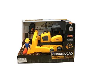 Kit Construção Delux - Monta e Desmonta - Zoop Toys