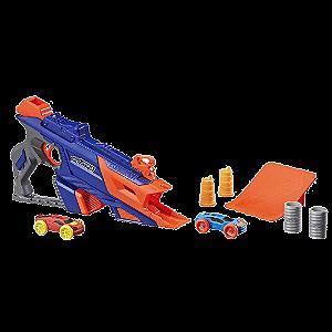Kit Lançador de carrinhos Nerf Nitro LongShot Smash - Hasbro