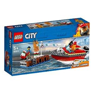 LEGO City Incêndio na Doca