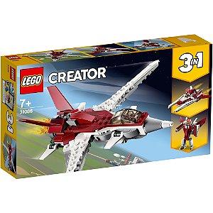 LEGO Creator 3 em 1 Aviões Voos Futuristas