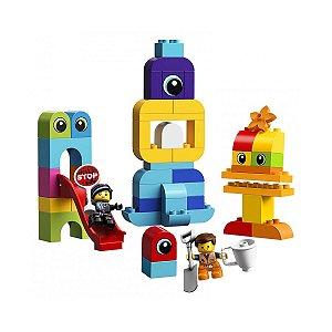 Lego Duplo Filme 2 - Os Visitantes do Planeta DUPLO do Emmet e da Lucy - LEGO