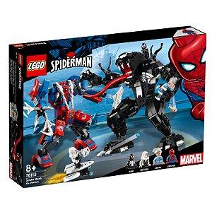 LEGO Marvel Super Heroes Spider-Man Robô Aranha vs Venom