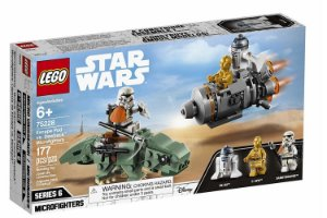 LEGO Star Wars Escape Pod vs. Dewbak Microfighters