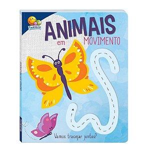 Livro Animais em Movimento - Vamos Tracejar Juntos?