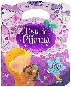Livro Bolsinha de adesivos Festa do pijama - Pati Patchwork