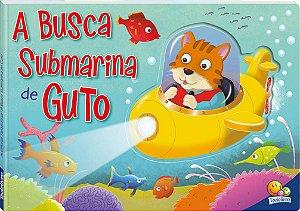 Livro Busca Submarina de Guto - Aventuras Fantasticas