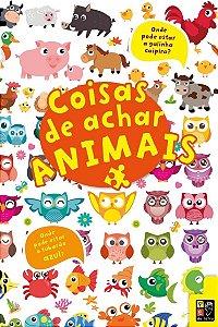 Livro Coisas Para Achar Animais