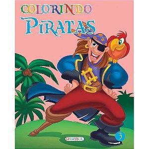 Livro Colorindo Piratas Volume 3