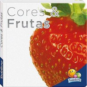 Livro Cores e Frutas - Aprendendo Palavras