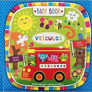 Livro de Abas Baby Book Veículos - Primeiras Palavras
