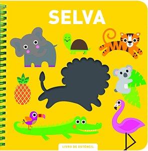 Livro de Estêncil Selva